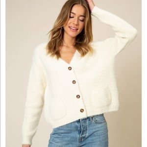 d86b2b4502 Sweaters - Button Down Chunky Cardigan Sweater